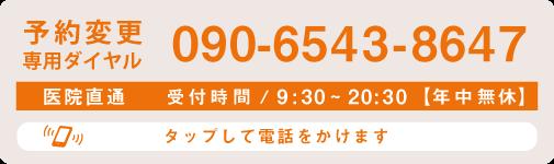 電話する:090-6543-8647