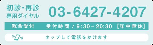 電話する:03-6427-4207